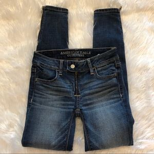 American Eagle Jeans Womens Denim Size 00 Jegging